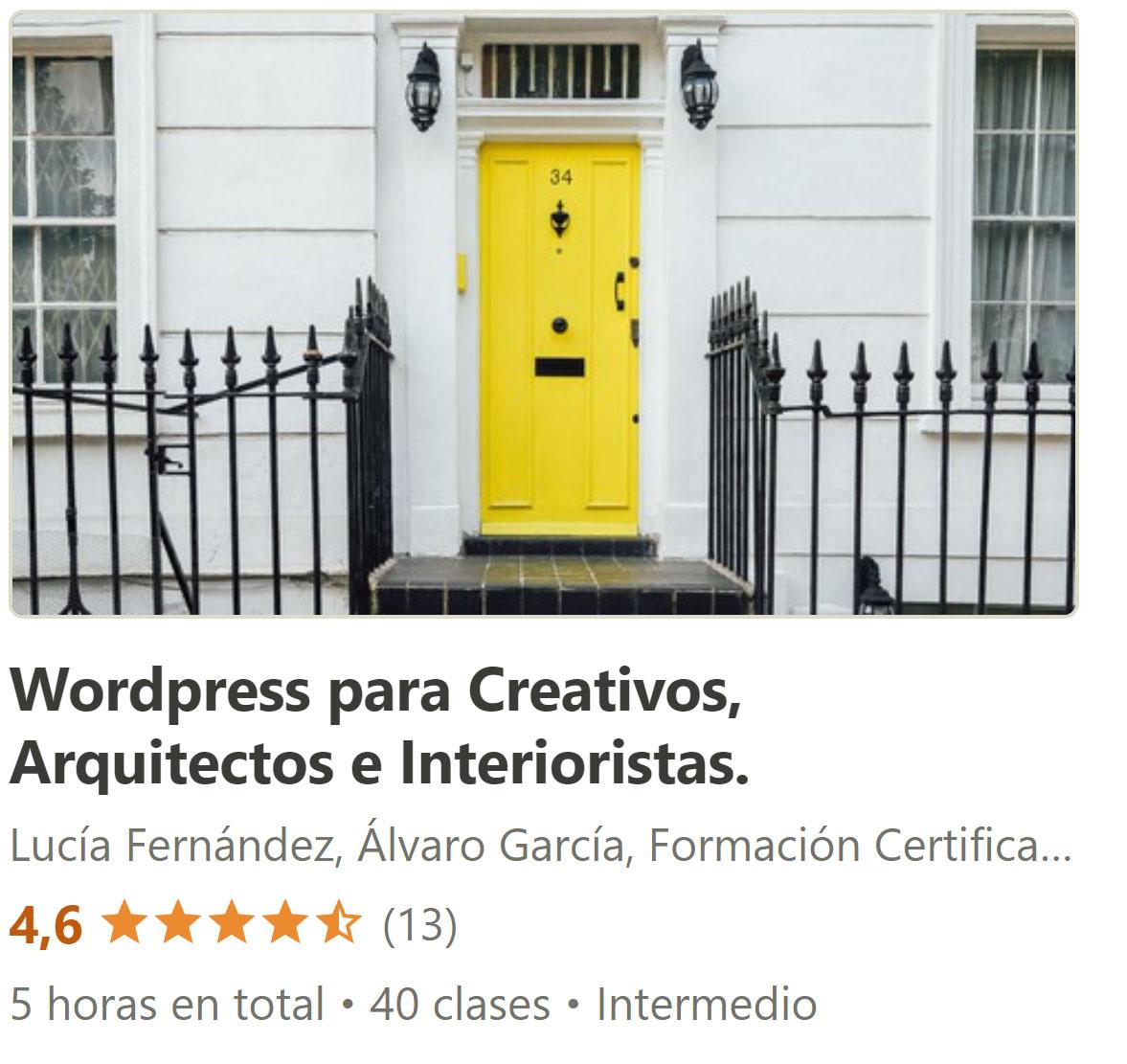curso-wordpress-arquitectos-interiores-decoracion